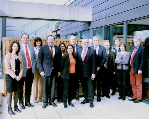 photo de la délégation