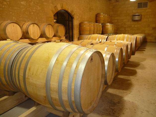 fûts de vin