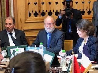 photo de signataires de l'accord