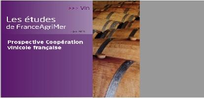 Couverture Étude Prospective Coopération vinicole française
