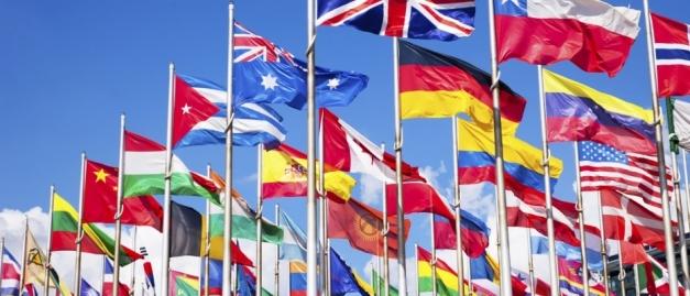 Drapeaux des pays CE