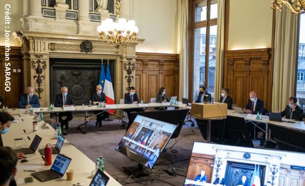 photo de la réunion