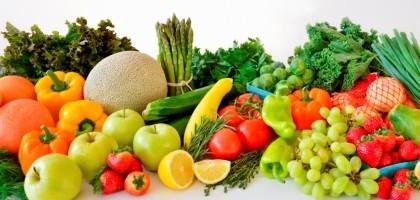Assortiment de fruit et légume