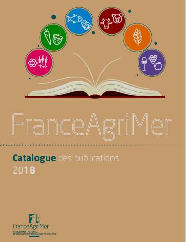 Couverture catalogue des publications 2018