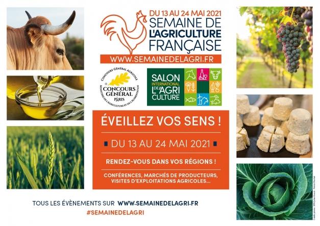 Affiche Semaine de l'agriculture française