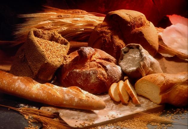 variété de pains