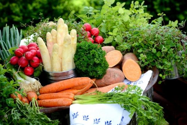 assortiment de fruits et de légumes