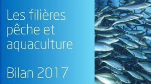 affiche pêche et aquaculture le bilan de l'année 2017