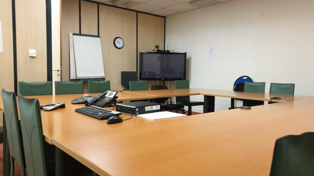 Photo d'une salle de réunion