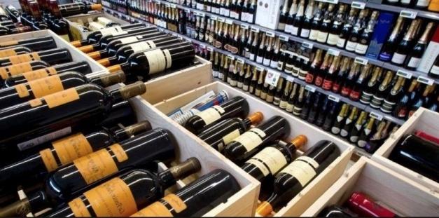 rayon de vin