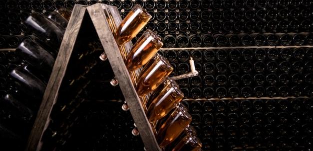 boutiels de vin en cave