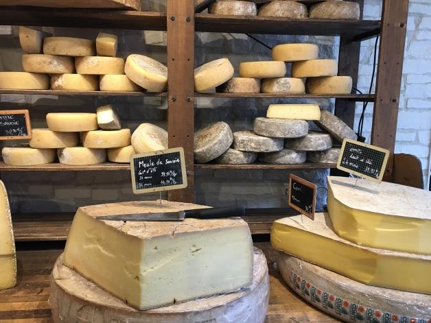 diférente varièté de fromage
