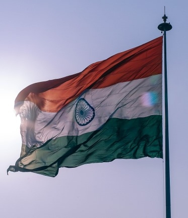 drapeau indien