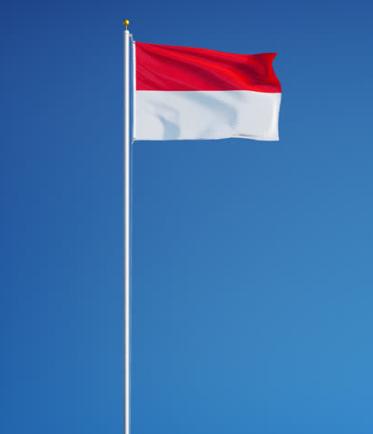drapeau de l'Indonésie
