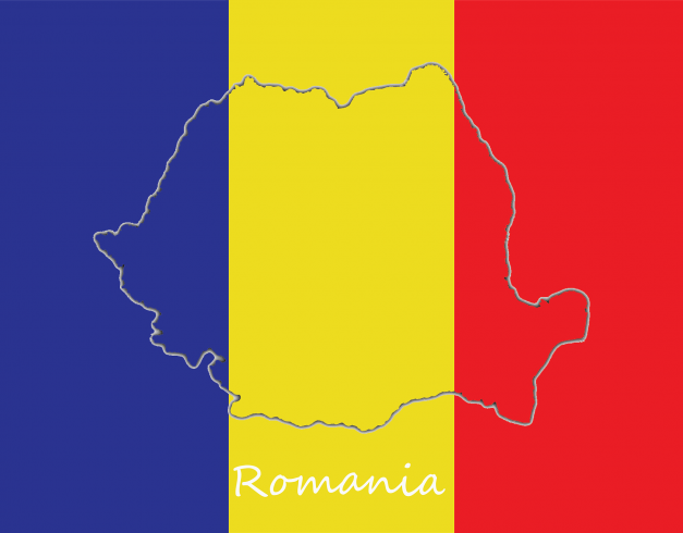 drapeau de roumanie