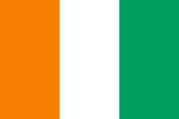 drapeau ivoirien
