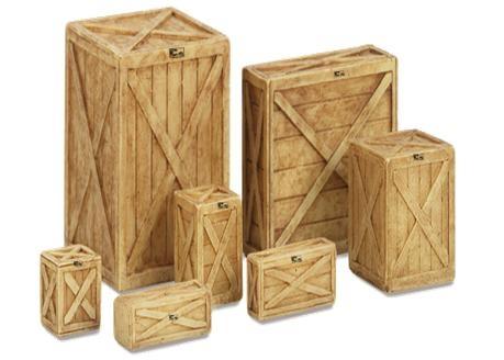 Les matériaux d'emballage en bois
