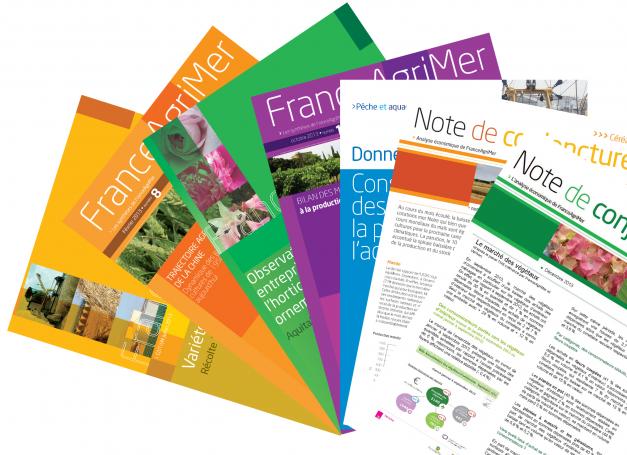 éventail de publications de FranceAgriMer