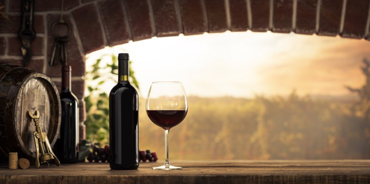 photo d'une bouteil de vin