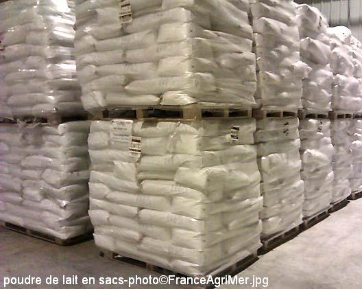 Poudre de lait / FranceAgriMer